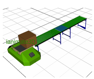 3D AGV Loading and Optimization