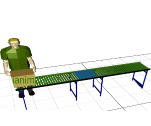 3D Conveyor - Carton Loading